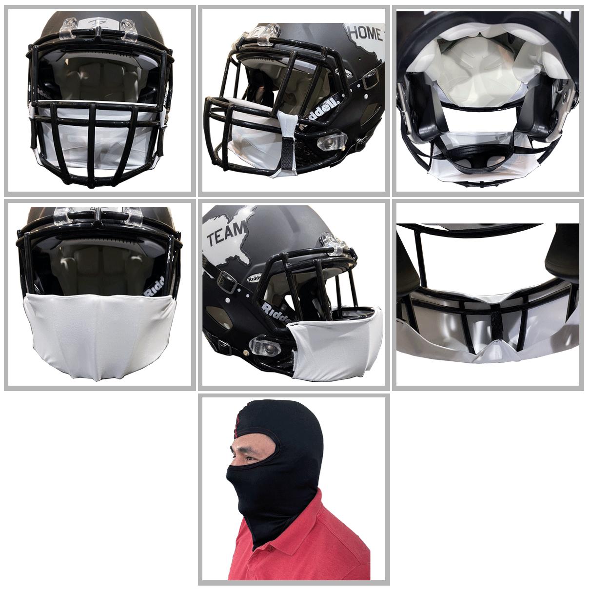 Football Helmet Masks